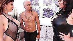 Latina BBW Sara Jay Gets Anal Creampied