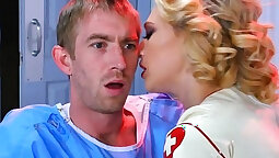 Brunic nurse takes anal