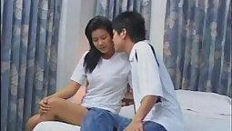 Behind the scenes of thai lezzies sex