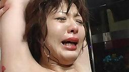Asian bondage babe rough mouth fisted hard
