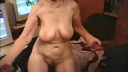 My Granny Twerk And Fucked And Fucked On Stairs!