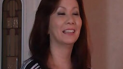 Japanese mature dyke mother