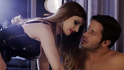 Stella Cox makes two holes