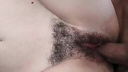 My young Pervy Wife in hooters fucked in her Hairy Pussy