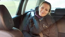 Craigslist hooker anal sex in fake taxi
