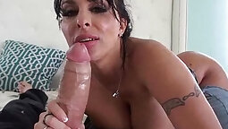 Fantastic Asian girl ready for anal fun with butt sex