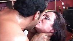 Beautiful milf slut pounded hard inside her eager pussy