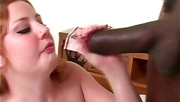 Black maid is the ultimate cock sucker
