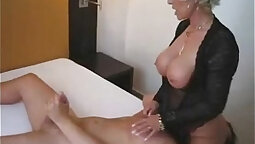 Ghetto Rebel Heart and Blonde Cougar Ari Cruz With Gas And Ladder