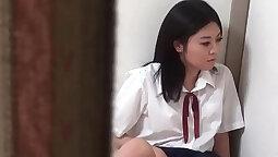 Sweet Teens with Asian movie scenes