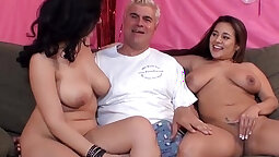 BBW Euro bitch feasting on cocks for a bit new Tribals Series