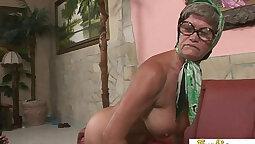 Big boobs yoga granny hardcore sex