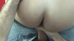 Czech babe fucked in college room by her first lover