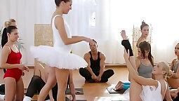 Sharing my Female Gym Instructor