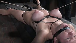 Nympho Punished With Cum On Her Ass