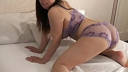 Asian w/ Huge Tits, Cute Shaved Pussy