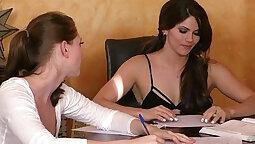 Nurtur assists in hot young lesbian scene