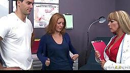 Naughty big boobs nurse Mariona