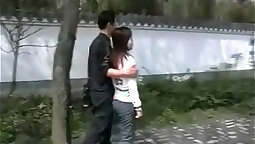 Chinese couple who love sex by donkey in lumber castle