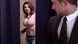 Big tits wife sucks and fucked