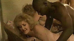 Mature mom fucked at party