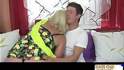 Big White Ass Granny Carolina Hot