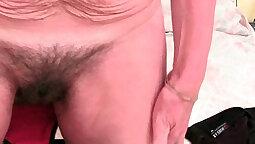 British Masseuse Kaded With Hairy Man