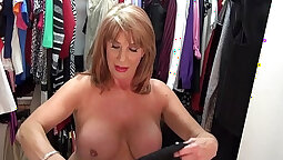 Beautiful mature fucked in her delicate pussy