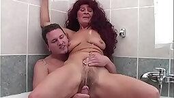 Bbw Granny Piss and Femdom Tome