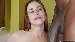 Bella Rossi Banged And Dropping Balls On Huge Cock