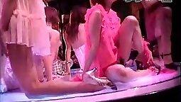 Ana and Mandan stripping japanese