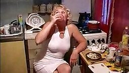 Mother and Sons Watch Sister Cum on Dirty Slutty Kitchen