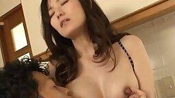 Breasty Filipina sucks and fucks with a stranger and no sign
