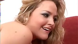 Sophia Love gets her footjob with a studs American dick