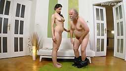 Busty Girlfriend Fucked Up Her Brown Pussy