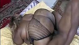 Black dick in fat ass fuck