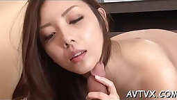 Asian oral training with tgirl and their man