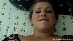 Chubby housewife Gringot comes to home and gets toyed