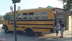 niggas putup Girls caught in school bus and shared across gang