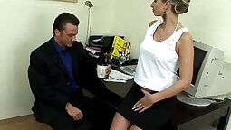 Boss in a Naughty Birthday Party