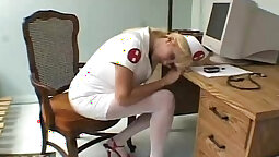 Akiho Yoshizawa is a cute nurse in a hospital who is looking for job