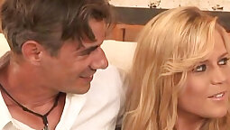 Blonde housewife wants a good sex spend first time on saus