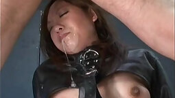 Sexy Sally gets dominated by a hot japanese guy