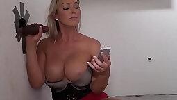 Big boobs slut bangs a big cock