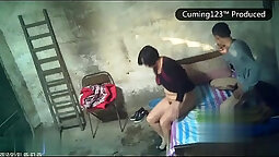 Chinese spinner close ups in caught on spy cam