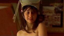 A sexy big titted teen Rio De Sade twerking