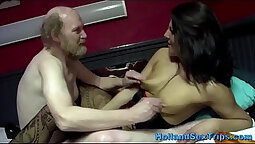 Cum For Cover Euro banged while getting fucked real hard