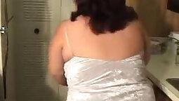 Busty Chubby Stripper Fucks Stud
