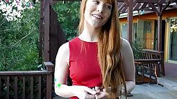 Redheads Erotic Giving Head