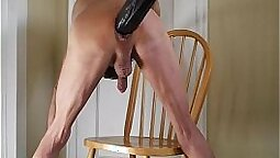 Extreme anal fuck on cock